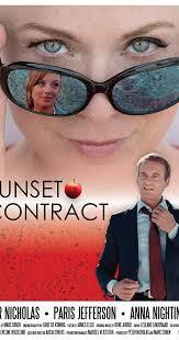 locandina del film SUNSET CONTRACT