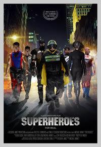 locandina del film SUPERHEROES