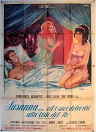 locandina del film SUSANNA… ED I SUOI DOLCI VIZI ALLA CORTE DEL RE