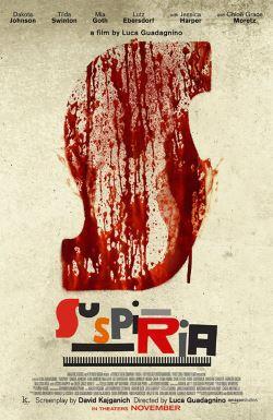 locandina del film SUSPIRIA (2018)