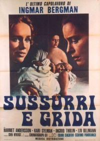 locandina del film SUSSURRI E GRIDA