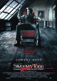 locandina del film SWEENEY TODD: IL DIABOLICO BARBIERE DI FLEET STREET