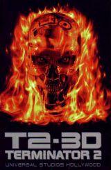 locandina del film T2 3-D: BATTLE ACROSS TIME