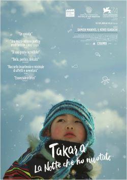locandina del film TAKARA - LA NOTTE CHE HO NUOTATO