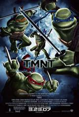 locandina del film TMNT - TEENAGE MUTANT NINJA TURTLES