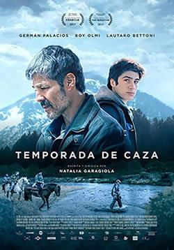 locandina del film TEMPORADA DE CAZA