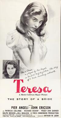 locandina del film TERESA (1951)