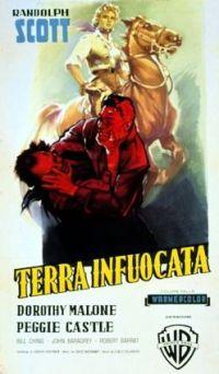 locandina del film TERRA INFUOCATA