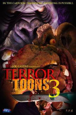 locandina del film TERROR TOONS 3