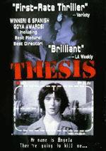 locandina del film TESIS