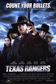 locandina del film TEXAS RANGERS