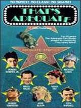 locandina del film THAT'S ADEQUATE