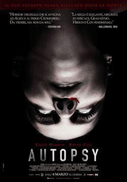 locandina del film AUTOPSY (2016)