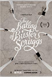 locandina del film LA BALLATA DI BUSTER SCRUGGS