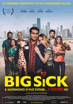 locandina del film THE BIG SICK - IL MATRIMONIO SI PUO' EVITARE... L'AMORE NO