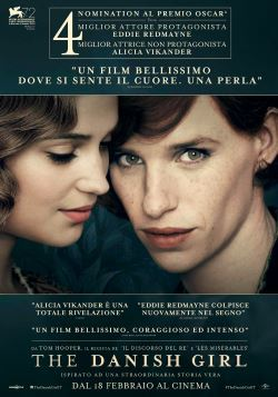 locandina del film THE DANISH GIRL