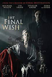 locandina del film THE FINAL WISH