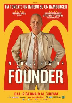 locandina del film THE FOUNDER