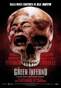 locandina del film THE GREEN INFERNO