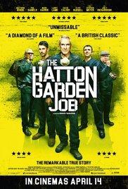 locandina del film THE HATTON GARDEN JOB
