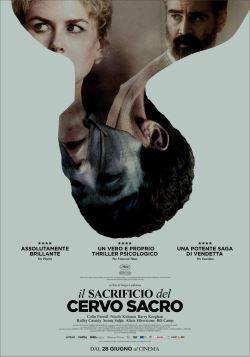 locandina del film IL SACRIFICIO DEL CERVO SACRO