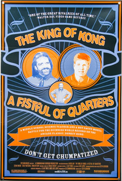 locandina del film THE KING OF KONG A FISTFUL OF QUARTERS