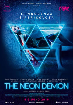 locandina del film THE NEON DEMON
