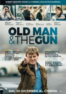 locandina del film THE OLD MAN & THE GUN