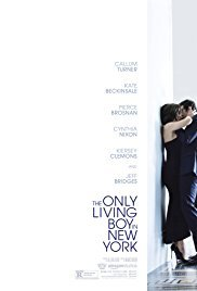 locandina del film THE ONLY LIVING BOY IN NEW YORK