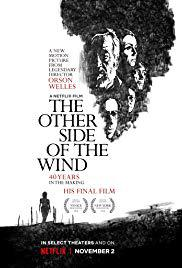 locandina del film THE OTHER SIDE OF THE WIND