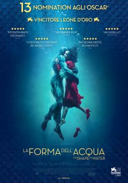 locandina del film LA FORMA DELL'ACQUA - THE SHAPE OF WATER