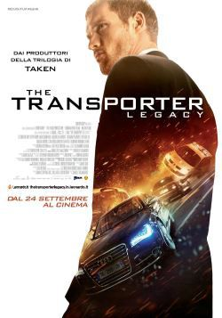 locandina del film THE TRANSPORTER LEGACY