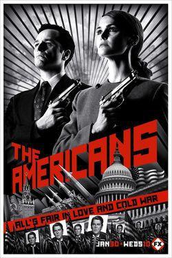 locandina del film THE AMERICANS - STAGIONE 1