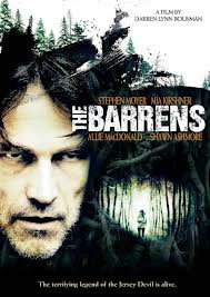 locandina del film THE BARRENS
