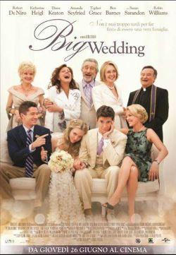 locandina del film THE BIG WEDDING