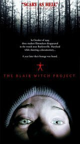 locandina del film THE BLAIR WITCH PROJECT - IL MISTERO DELLA STREGA DI BLAIR