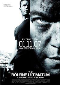 locandina del film THE BOURNE ULTIMATUM - IL RITORNO DELLO SCIACALLO