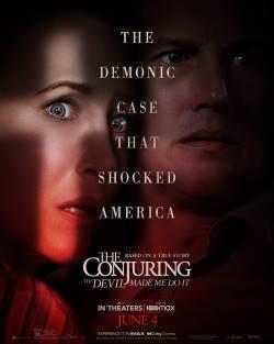 locandina del film THE CONJURING - PER ORDINE DEL DIAVOLO