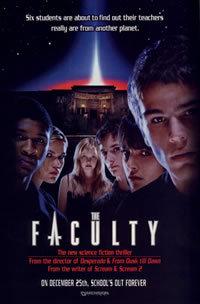 locandina del film THE FACULTY