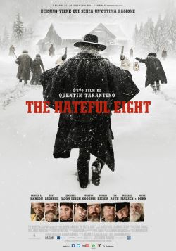 locandina del film THE HATEFUL EIGHT
