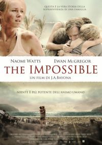locandina del film THE IMPOSSIBLE