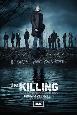 locandina del film THE KILLING - STAGIONE 2