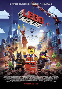 locandina del film THE LEGO MOVIE