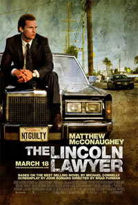 locandina del film THE LINCOLN LAWYER
