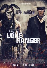 locandina del film THE LONE RANGER