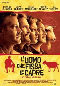 locandina del film L'UOMO CHE FISSA LE CAPRE