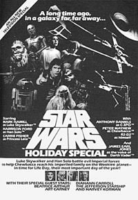 locandina del film THE STAR WARS HOLIDAY SPECIAL