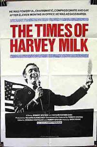 locandina del film THE TIMES OF HARVEY MILK