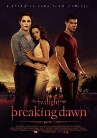 locandina del film TWILIGHT SAGA: BREAKING DAWN - PARTE 1