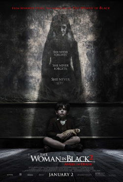locandina del film THE WOMAN IN BLACK 2 - L'ANGELO DELLA MORTE
